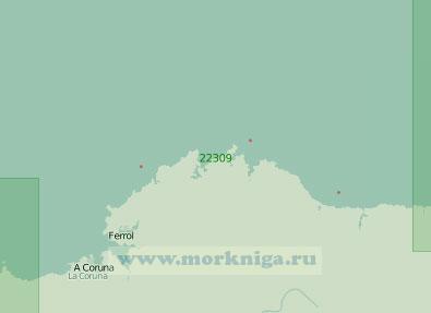 22309 От бухты Навия до островов Сисаргас (Масштаб 1:200 000)