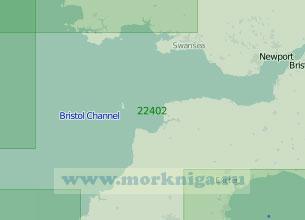 22402 От мыса Келси-Хед до мыса Сент-Дейвидс-Хед с Бристольским заливом (Масштаб 1:200 000)