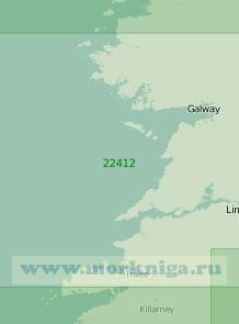22412 От залива Клу до залива Дингл (Масштаб 1:200 000)