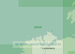 22414 От острова Колонсёй до залива Бойлах (Гуибарра) (Масштаб 1:200 000)