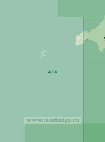 22426 От мыса Лизард до островов Силли (Масштаб 1:200 000)