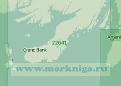 22641 Заливы Форчун и Пласеншия (Масштаб 1:200 000)