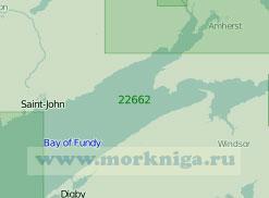 22662 Залив Фанди (Масштаб 1:200 000)
