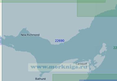 22690 Залив Шалёр (Масштаб 1:150 000)