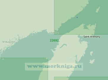 22692 Пролив Белл-Айл с подходами (Масштаб 1:300 000)