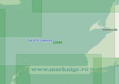22694 От пролива Кабота до острова Антикости (Масштаб 1:300 000)