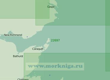 22697 От острова Принца Эдуарда до мыса Гаспе (Масштаб 1:300 000)