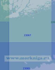 23067 От Палдиски до Ханко (Масштаб 1:100 000)