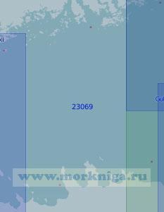 23069 От светящего знака Тийскери (Дигшер) до маяка Кери (Масштаб 1:100 000)