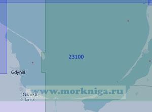 23100 Гданьский залив (Масштаб 1:100 000)