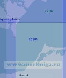 23106 От полуострова Цингст до острова Лолланн (Масштаб 1:100 000)