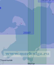 23107 Мекленбургская бухта с проливом Фемарнбельт (Масштаб 1:100 000)