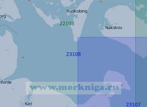 23108 От пролива Фемарнбельт до пролива Малый Бельт (Масштаб 1:100 000)