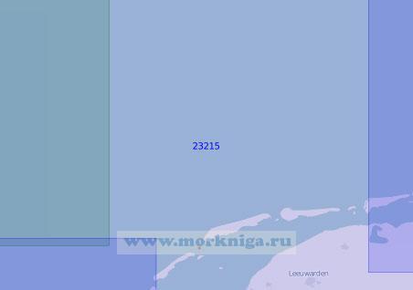 23215 От острова Схирмонниког до острова Тексел (Масштаб 1:150 000)