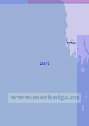 23649 От острова Сил до мыса Сент-Мэрис (Масштаб 1:100 000)