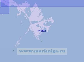 23820 Дельта реки Миссисипи с подходами (Масштаб 1:100 000)