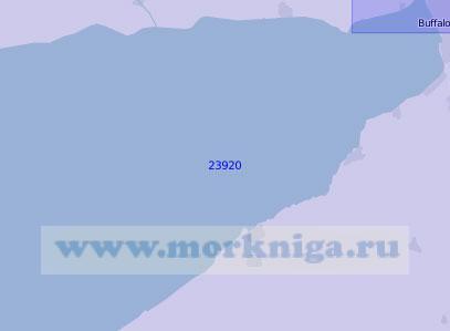 23920 Восточная часть озера Эри (Масштаб 1:100 000)