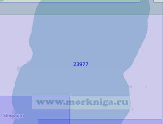 23977 От города Франкфорт до города Шебойган (Масштаб 1:150 000)