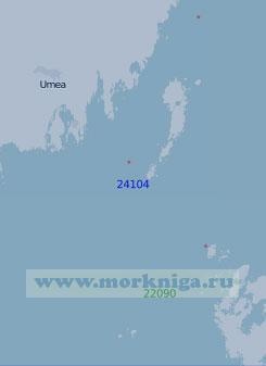 24104 Пролив Норра-Кваркен (Масштаб 1:100 000)