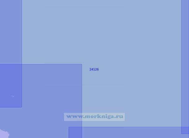 24126 Район к северо-востоку от острова Борнхольм (Масштаб 1:100 000)