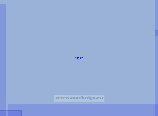 24127 Район к северо-западу от Гданьского залива (Масштаб 1:100 000)