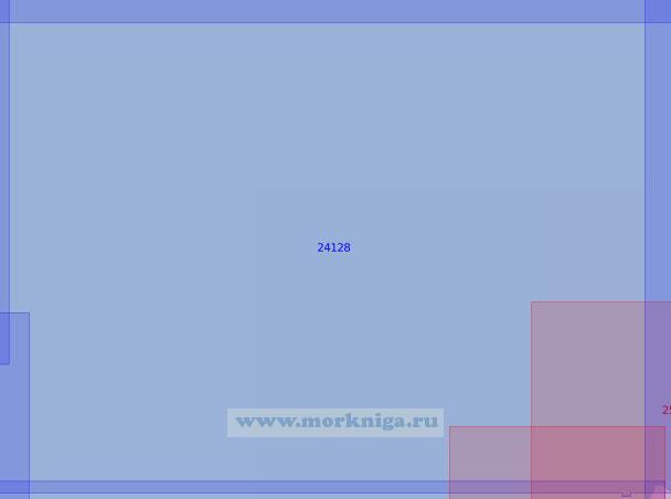 24128 Район к северу от Гданьского залива (Масштаб 1:100 000)