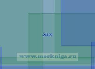 24129 От 55°37'N до 56°18'N от 18°20'Е до 20°01'Е (Масштаб 1:100 000)