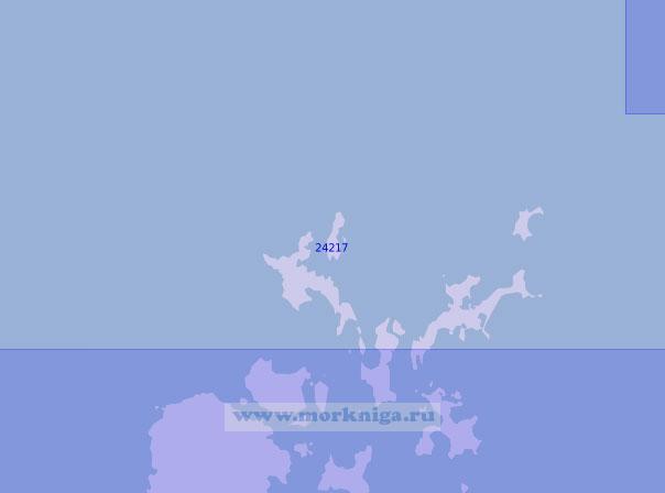 24217 Северная часть Оркнейских островов (Масштаб 1:100 000)