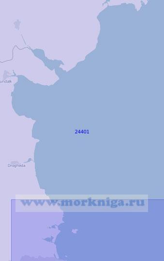 24401 От острова Ламбей до мыса Сент-Джонс (Масштаб 1:100 000)