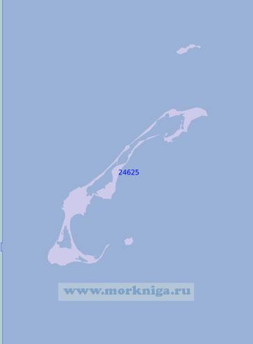 24625 Острова Мадлен (Масштаб 1:100 000)