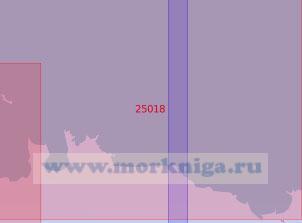 25018 От мыса Летипеа до острова Мохни (Масштаб 1:50 000)