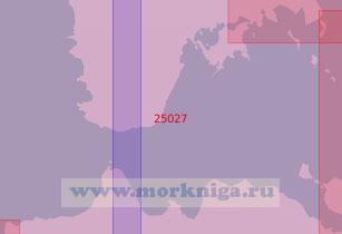 25027 Пролив Соэла (Масштаб 1:50 000)