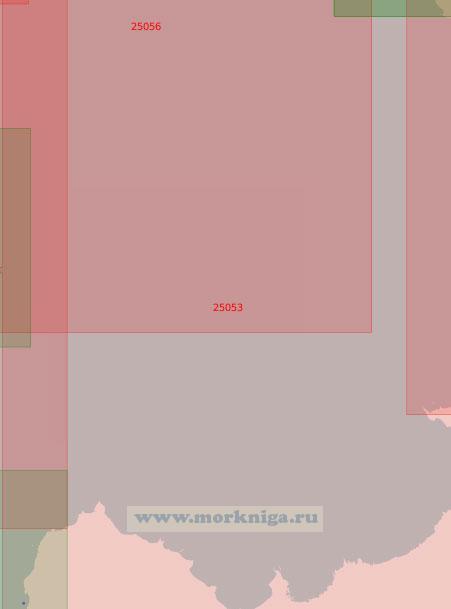 25053 От мыса Колганпя до маяка Стирсудден (Масштаб 1:50 000)