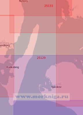 25129 Пролив Лангеланнсбельт (Масштаб 1:75 000)