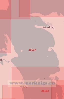 25137 Пролив Большой Бельт. Северная часть (Масштаб 1: 70 000)