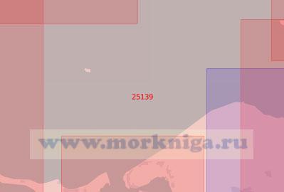 25139 От мыса Куллен до гавани Одден (Масштаб 1:75 000)