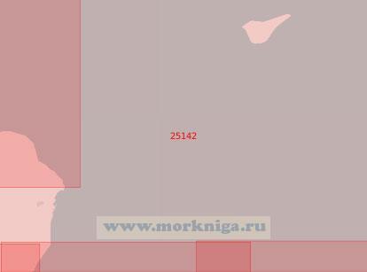 25142 От мыса Форнес до острова Анхольт (Масштаб 1:75 000)