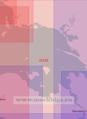 25195 Пролив Смоланнсфарваннет (Масштаб 1:75 000)