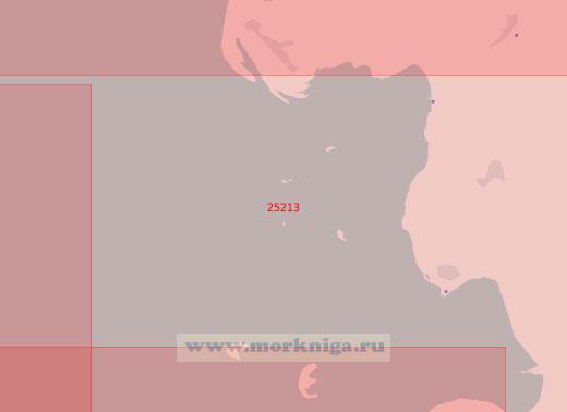 25213 Северная часть Гельголандской бухты (Масштаб 1:50 000)
