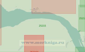 25215 От реки Осте до селения Санкт-Маргаретен (Масштаб 1:25 000)