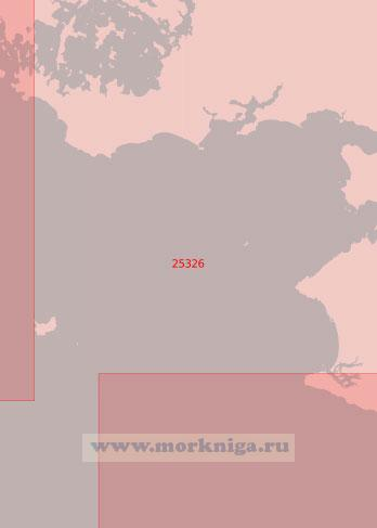 25326 От гавани Навало до порта Ле-Круазик (Масштаб 1:50 000)