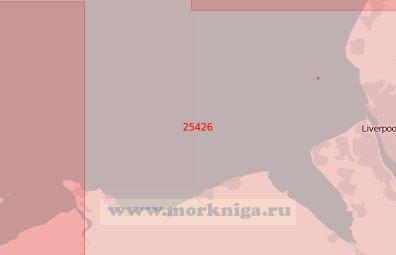 25426 От мыса Грейт-Ормс-Хед до порта Ливерпуль (Масштаб 1:75 000)