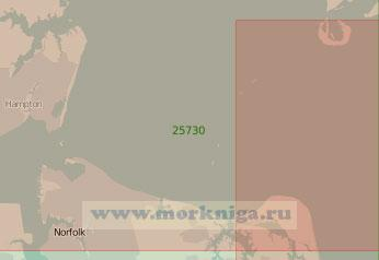 25730 Вход в Чесапикский залив (Масштаб 1:50 000)