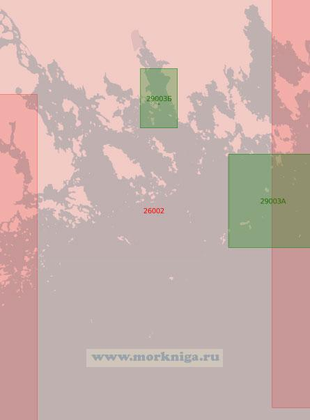 26002 Подходы к порту Ловийса (Ловиса) (Масштаб 1:50 000)