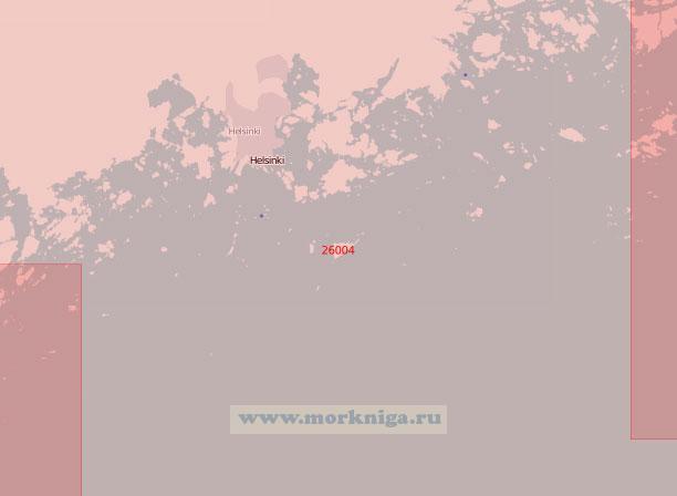26004 Подходы к порту Хельсинки (Масштаб 1:50 000)