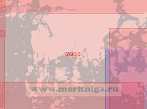 26010 Подходы к острову Кемиё (Кимито) (Масштаб 1:50 000)