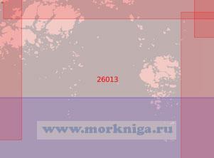 26013 Чёкарс-фьерд (Масштаб 1:50 000)