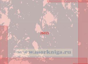 26015 От острова Дегерё до светящего знака Кихти (Масштаб 1:50 000)
