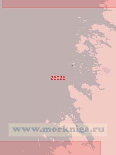 26025 От острова Кауриссало до острова Лайтакари (Масштаб 1:50 000)