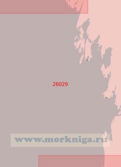 26029 Подходы к портам Кристийнанкаупунки (Кристинестад) и Каскинен (Каске) (Масштаб 1:50 000)
